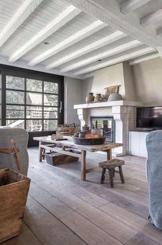 Meer dan 1000 idee n over modern landelijke stijl op pinterest modern landelijk lounge decor - Moderne stijl lounge ...
