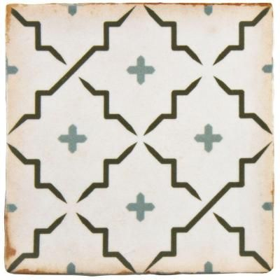Merola Tile Archivo Lattice 4-7/8 in. x 4-7/8 in. Ceramic Floor and Wall Tile (5.9 sq. ft. / case)-FPEARCLT - The Home Depot