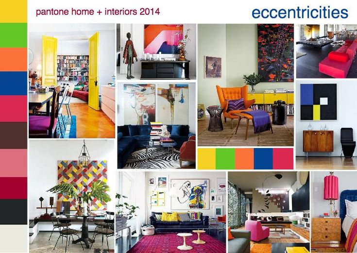 Colour Trends 2014 Interiors 35 best eccentric interiors images on pinterest | home, home