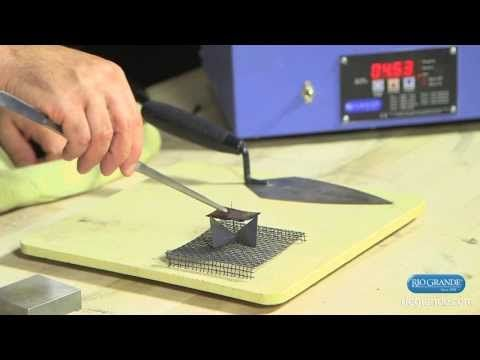 ▶ Enameling Roller-Printed Metal, Part 2, with Ricky Frank - YouTube