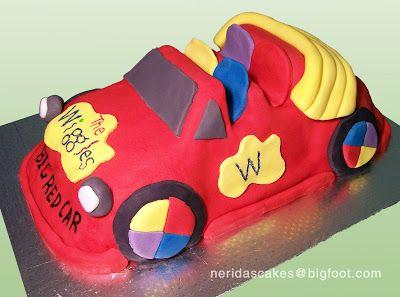 Big Red Car cake