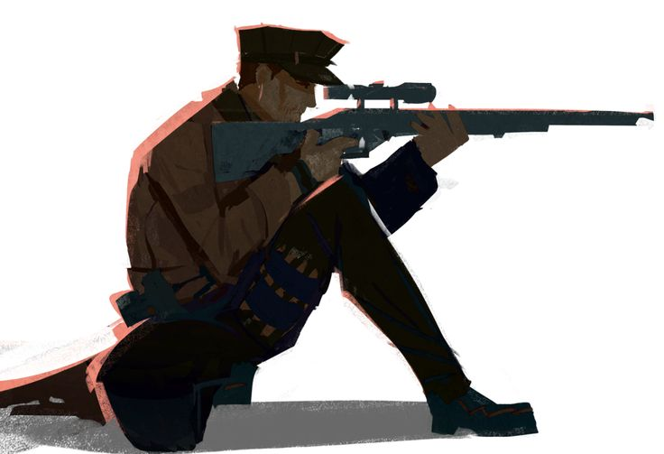 my smol sniper boyfriend