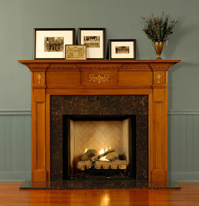 St Simon Fireplace Mantel Surround Custom. Stone Fireplace MantelWood ...