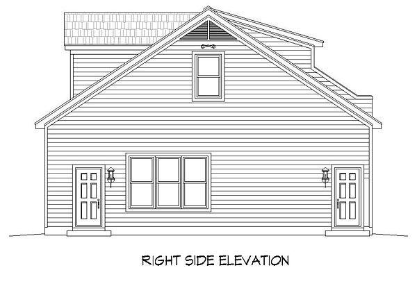 4 Car Garage Plan Number 51454 Garage Plans Garage Plan Garage Plans With Loft