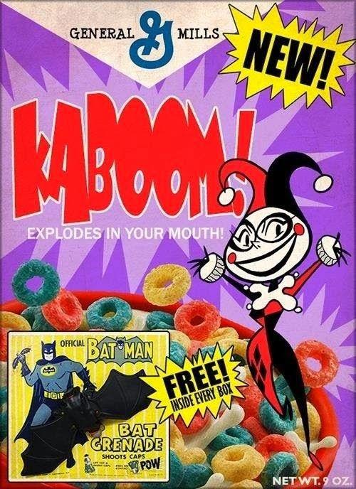 """Harley Quinn"" KABOOM! Cereal"