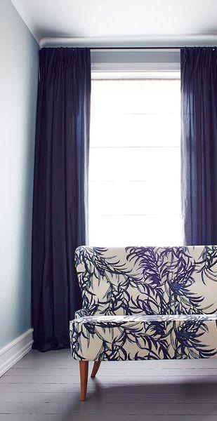 Indigo textile sofas forward willow indigo textile design by helene