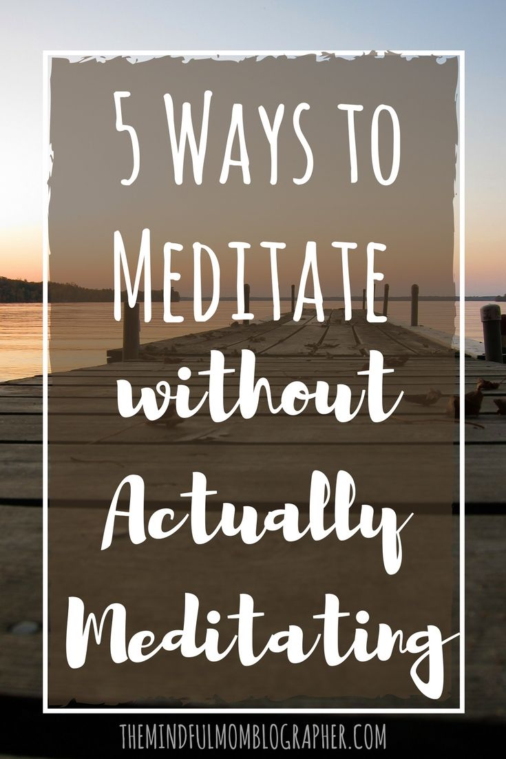 how to meditate without a guide