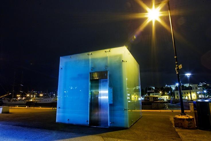 Public #toilet - Rådhuskaia Oslo