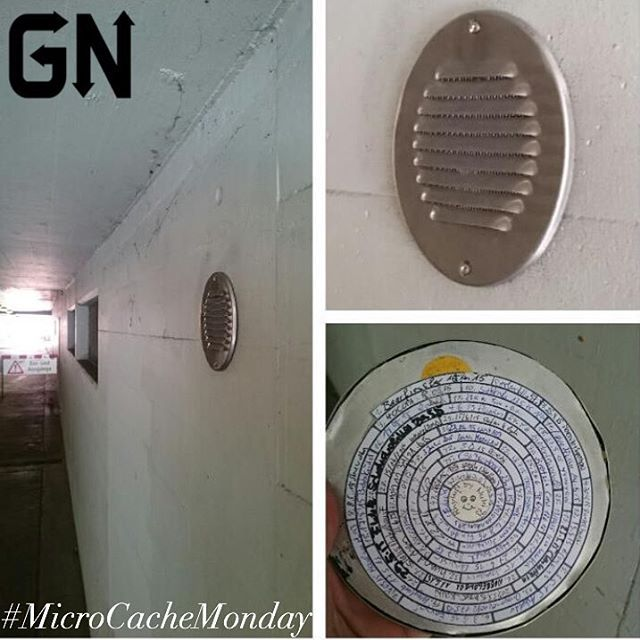 The MicroCaches keep getting trickier and trickier ! Awesome find @fishbone2geo If you want to be featured in next weeks #MicroCacheMonday add the hashtag to your #geocaching photos and we will randomly select one! Happy caching ! #GeocacheNation