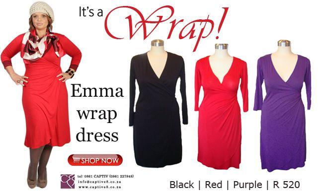 Emma wrap dress