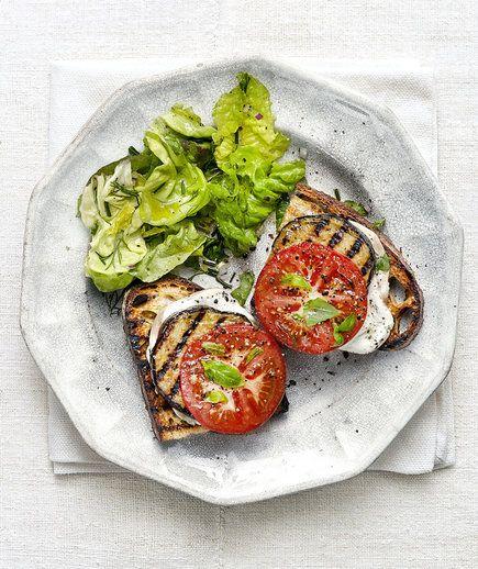 Grilled Eggplant and Smoked Mozzarella Melts | Recipe | Mozzarella ...