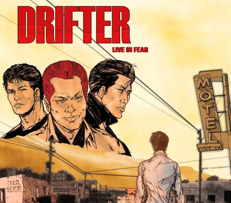 Drifter é um filme indie de baixo orçamento sobre dois irmãos fora da lei num mundo pós-apocalíptico, feitos reféns de uma família de lunáticos canibais.