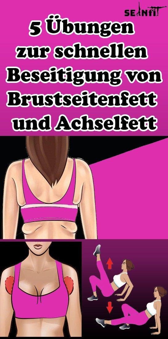 5 Übungen zur schnellen Beseitigung von Brustseitenfett und Achselfett