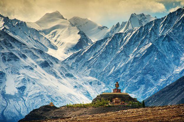 Travel on India // Trip on India // Lune de miel en Inde, le monastère de Distik, Ladakh