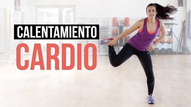 Aquecimento com exercícios de cardio, movimente-se!