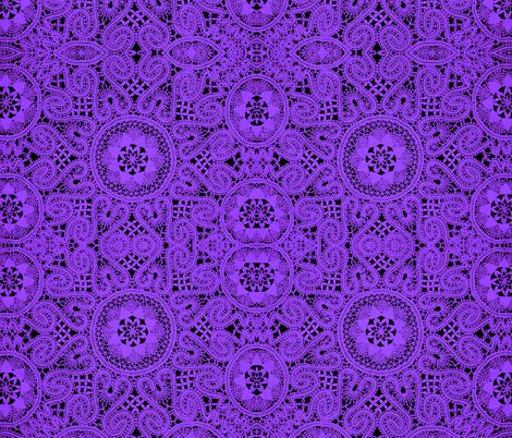 Purple Lace fabric by whimzwhirled on Spoonflower - custom fabric