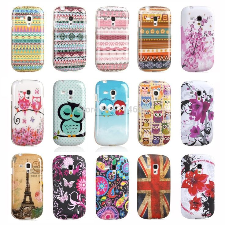 Exclusive Design Polka Dots Sleeping Owl TPU Silicon Phone Case Etui for Samsung GALAXY S3 mini Back Cover Skin S 3 mini i8190