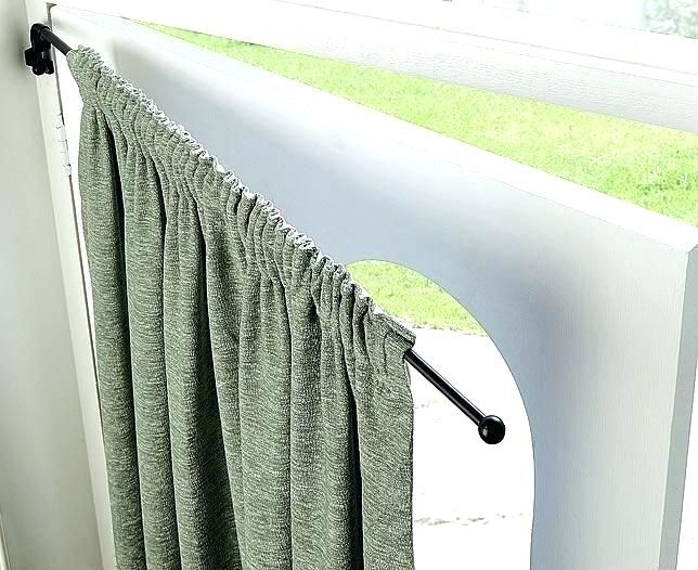 Heavy Duty Swing Arm Curtain Rod Google Search Curtains Front
