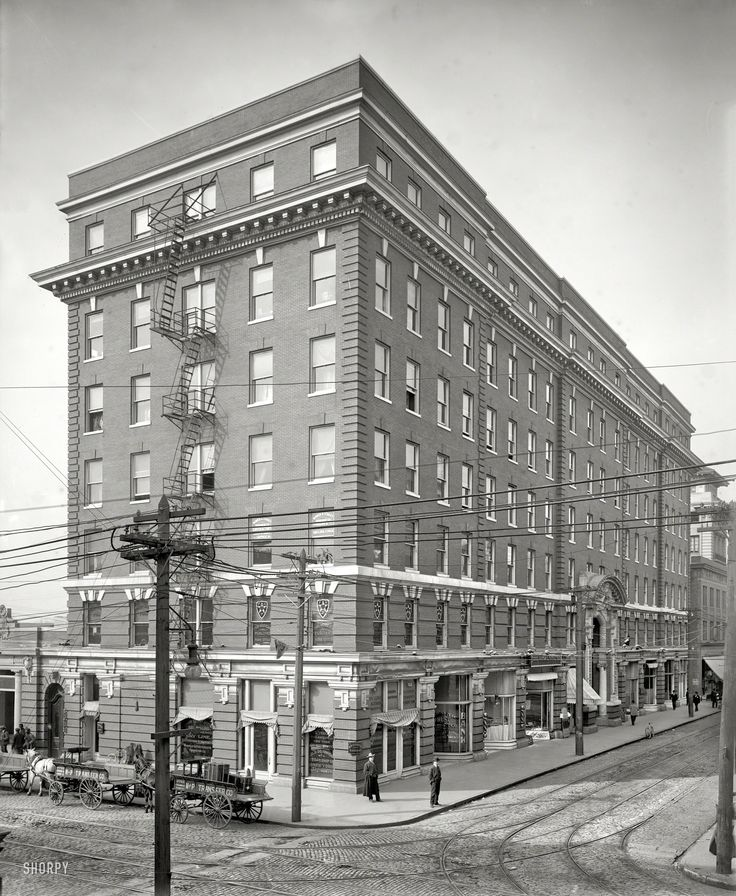 (c. 1906) Atlantic Hotel, Granby Street Norfolk