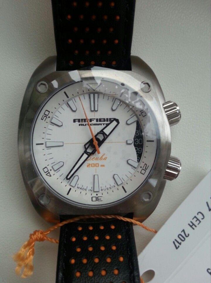Vostok amfibia Scuba 070799 mod | Vostok watches modding ...