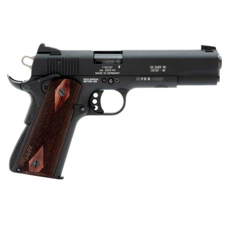 Sig Sauer 1911-22 Handgun  Mine. In two weeks. Put a deposit down today, cause I'm a broke ass. But so so excited to finally be getting my own.