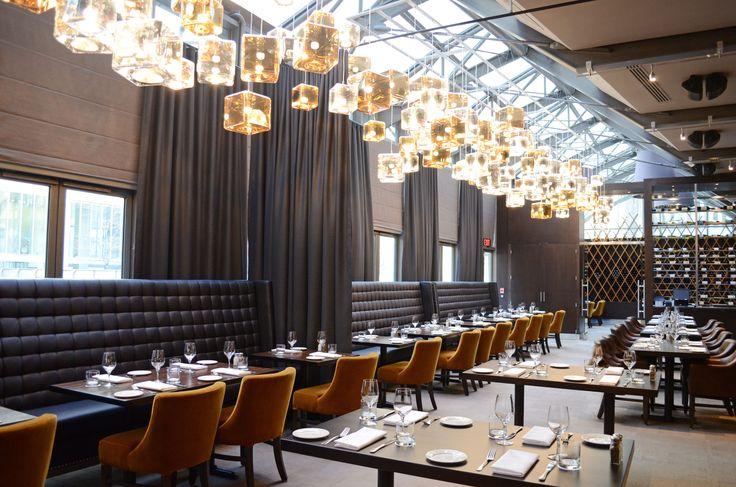 The renovated Jump restaurant in #Toronto, by deSignum Design. #interior #design…