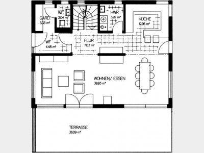 397 besten grundriss einfamilienhaus bilder auf pinterest for Optimaler grundriss einfamilienhaus