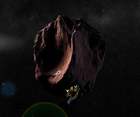 Today (5-4-2016), New Horizon is 1,000 days away from NASA's proposed Pluto encore: a flyby of Kuiper Belt object 2014 MU69 on January 1, 2019.