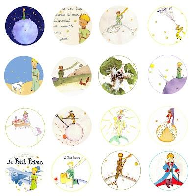 The Little Prince Le Petit Prince Free Bottle Cap Images by Folie du Jour