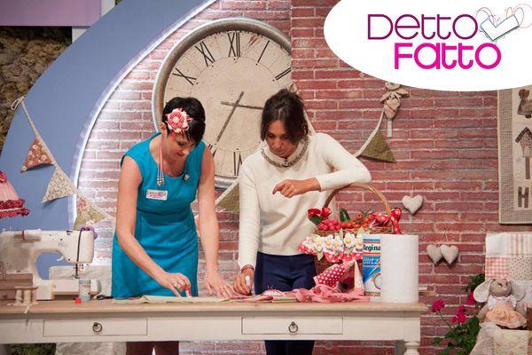 """Tutorial """"Detto Fatto"""" - Emanuela Tonioni, Angeli di Pezza"""