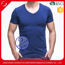 Custom mens plain spandex bamboo fiber t shirt  best seller follow this link http://shopingayo.space