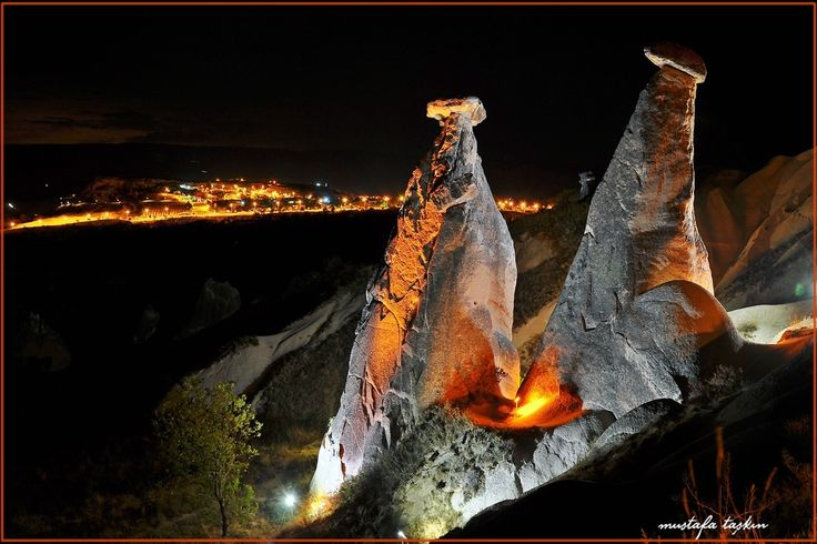 Kapadokya  -  Peri bacaları by mustafa taşkın on 500px