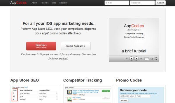posicionamiento de aplicaciones en la App Store