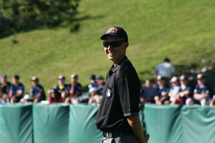Youngest Cooperstown Umpire Ever! Burlington's finest, Cody!