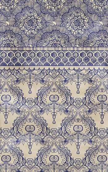 Vintage Wallpaper by micklyn