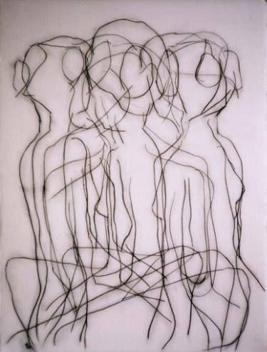 "Saatchi Art Artist Kevin Jones; Drawing, ""Rhythm in Black"" #art"