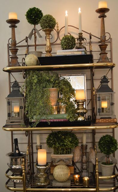 decorating with flameless candles