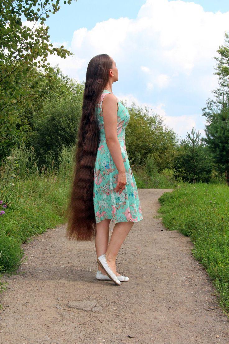 Veronika Krymova | Beauty waterfall | Long hair styles ...
