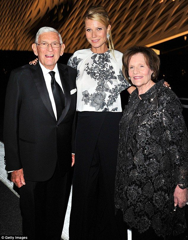 Joining the hosts:The stunning star posed up a storm with the The Broad Museum's financie...