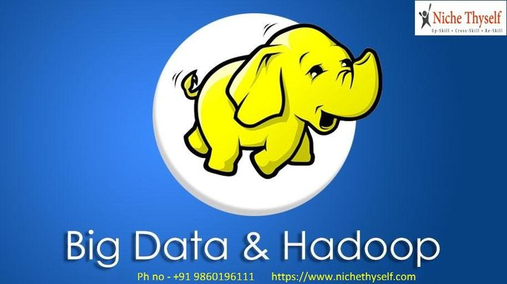 2)Niche ThySelf providing a comprehensive Big Data Hadoop Training Course designed by industry experts that will help you learn hadoop concepts through multiple hadoop projects