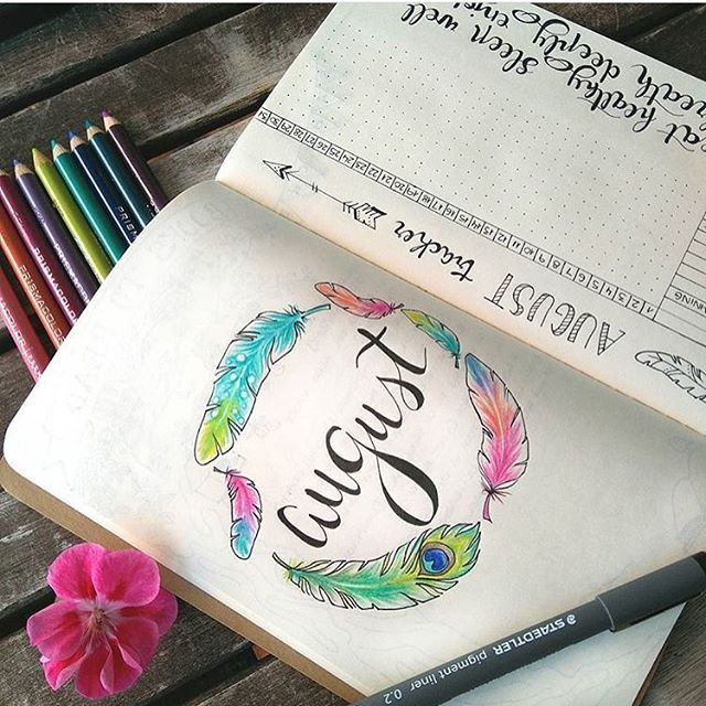 @livesimpleproject thank you for reminding me it is August tomorrow! Cute little month doodle too! Check them out! | bullet journal | bullet journal junkies | bullet journal junkie | bullet journaling | journaing | planner spread | planner | planning | bujo | bujo junkies | buko junkie |