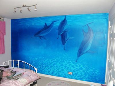 I Feel Like This Is Kind Of Tacky But I Also Kind Of Want To Find Dolphin Bedroomocean