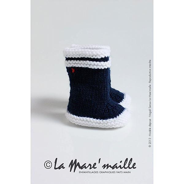 chausson bébé maille, chausson bébé tricoté main, chausson bébé de créateur, chausson bébé original, cadeau naissance original, cadeau naiss...