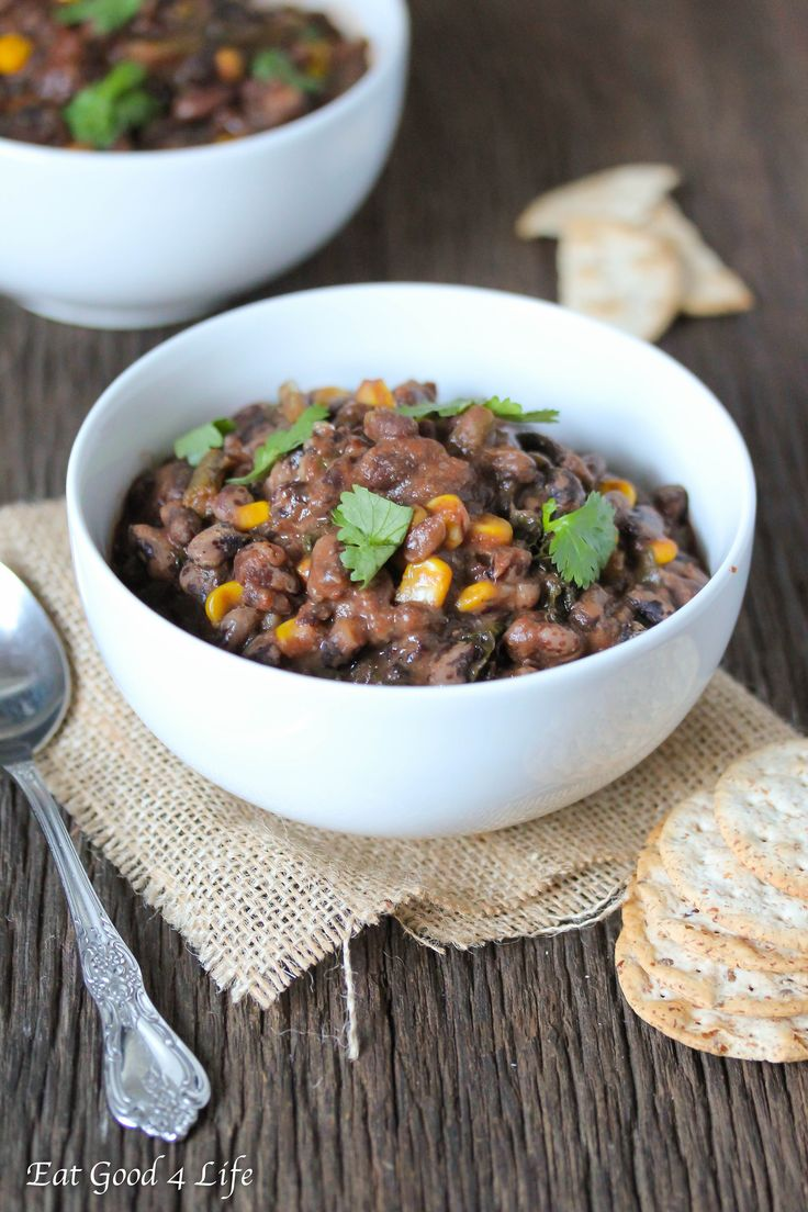 Have you tried Orca beans before? This is my first time using Orca beans for this slow cooker orca bean soup and for sure it will not be my last. So healthy and full of fiber.