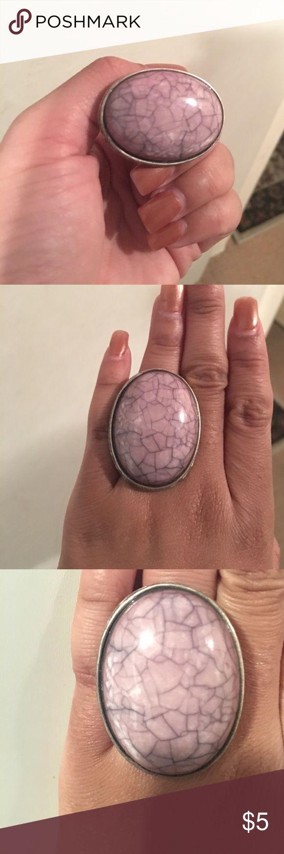 Purple Stone Ring Purple Stone Ring - Size 7 Jewelry Rings