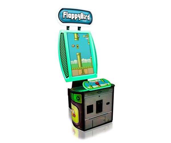 You Can Soon Play 'Flappy Bird' On A Real Coin-Operated Arcade Game - DesignTAXI.com