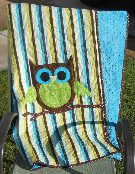 gotta try this little owl quilt. so cute.