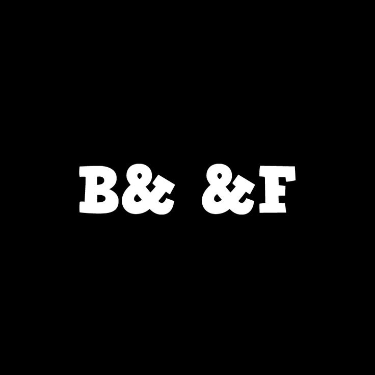 B&  &F, Blaff and Flaff Logotype coming out