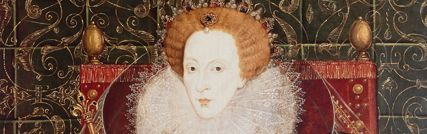 Queen Elizabeth I; Her 45-year reign is generally considered one of the most glorious in English history. During it a secure Church of England was established. Its doctrines were laid down in the 39 Articles of 1563, a compromise between Roman Catholicism and Protestantism.