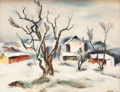 Adam Bălțatu - Iarnă la Huşi